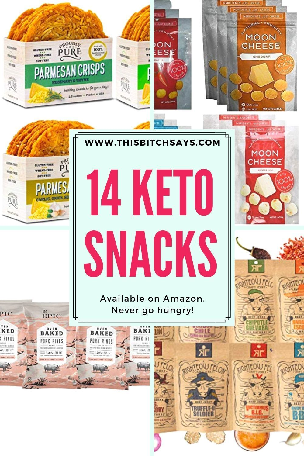 14 Easy Keto Snacks [you can buy on Amazon | Keto snacks ...