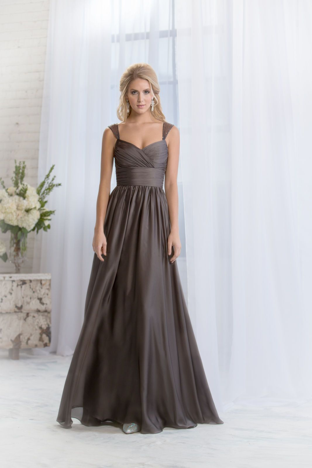 L from belsoie bridesmaid and flower girl dresses