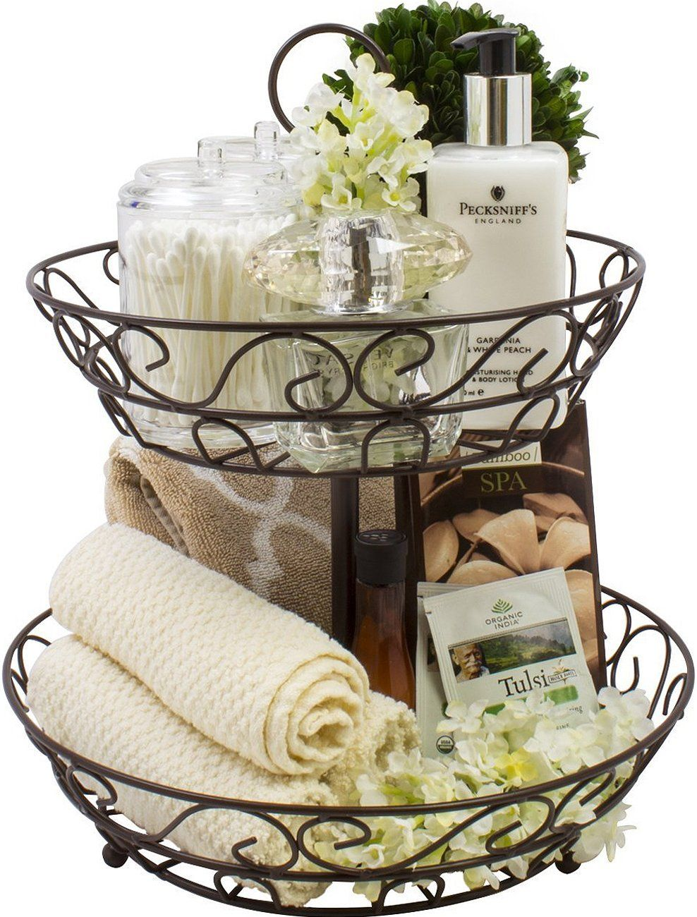 Sorbus 2tier Countertop Fruit Basket Holder And Decorative Bowl