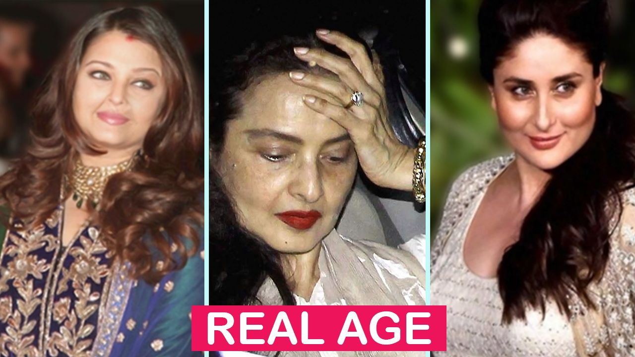 Top 10 Bollywood Actresses Real Age They Are All Senior Actresses In Bollywood 1 Rekha 2 Top 10 Bollywood Actress Bollywood Actress Bollywood Celebrities