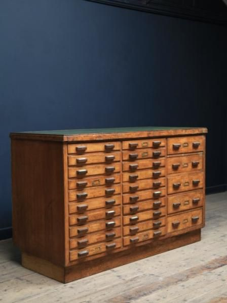 Bank of drawers antique cabinets storage drew for Muebles estilo banak