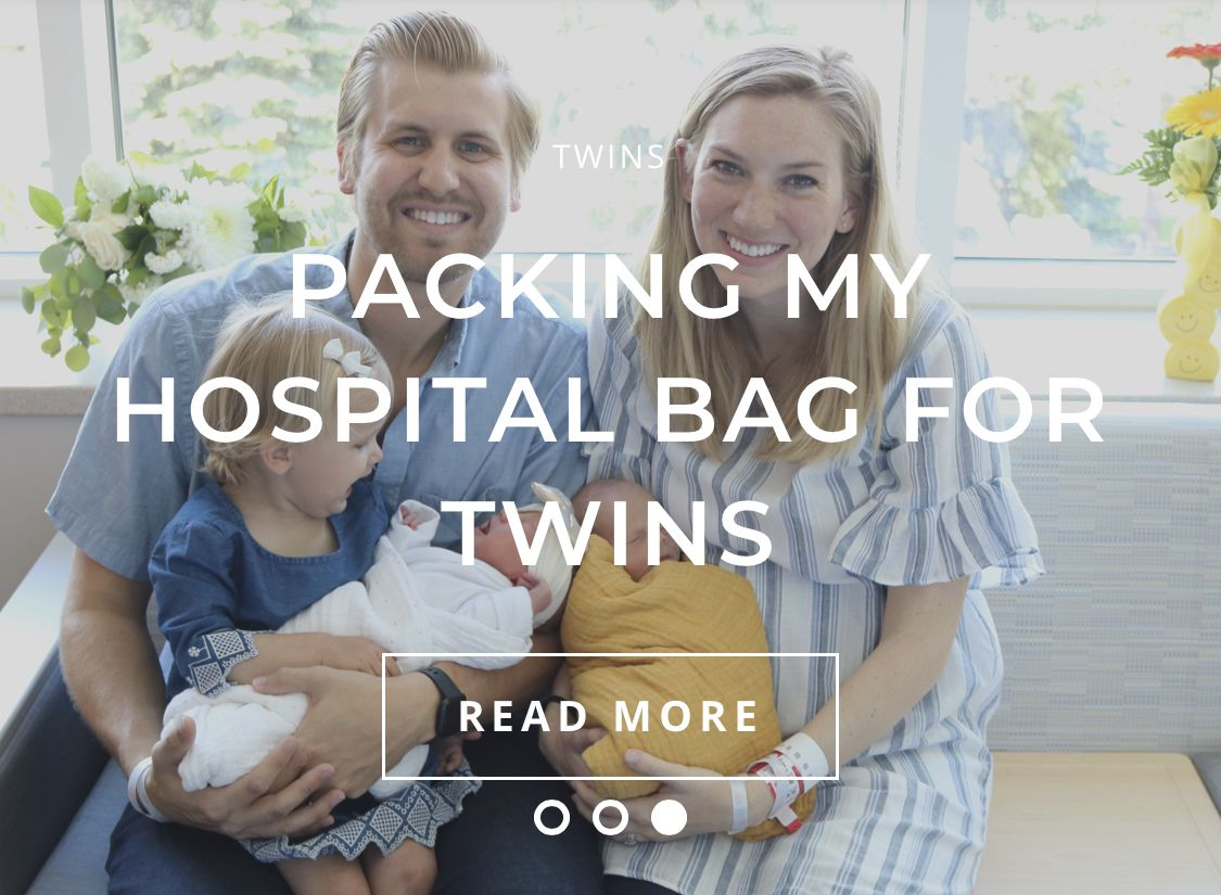 Products and tips before during and after birth #hospitalbag #twinbirth #birthstory #birthplan #csectionrecovery #breastfeeding