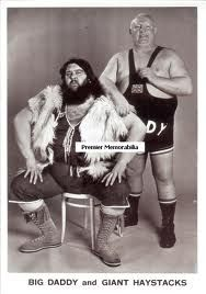 big daddy and giant haystacks - Larger than life wrestlers