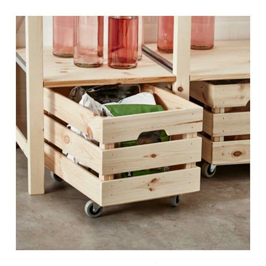 Great Idea For Under Ikea Ivar Shelves Ikea Lagerung Ivar Regal Ikea Ivar