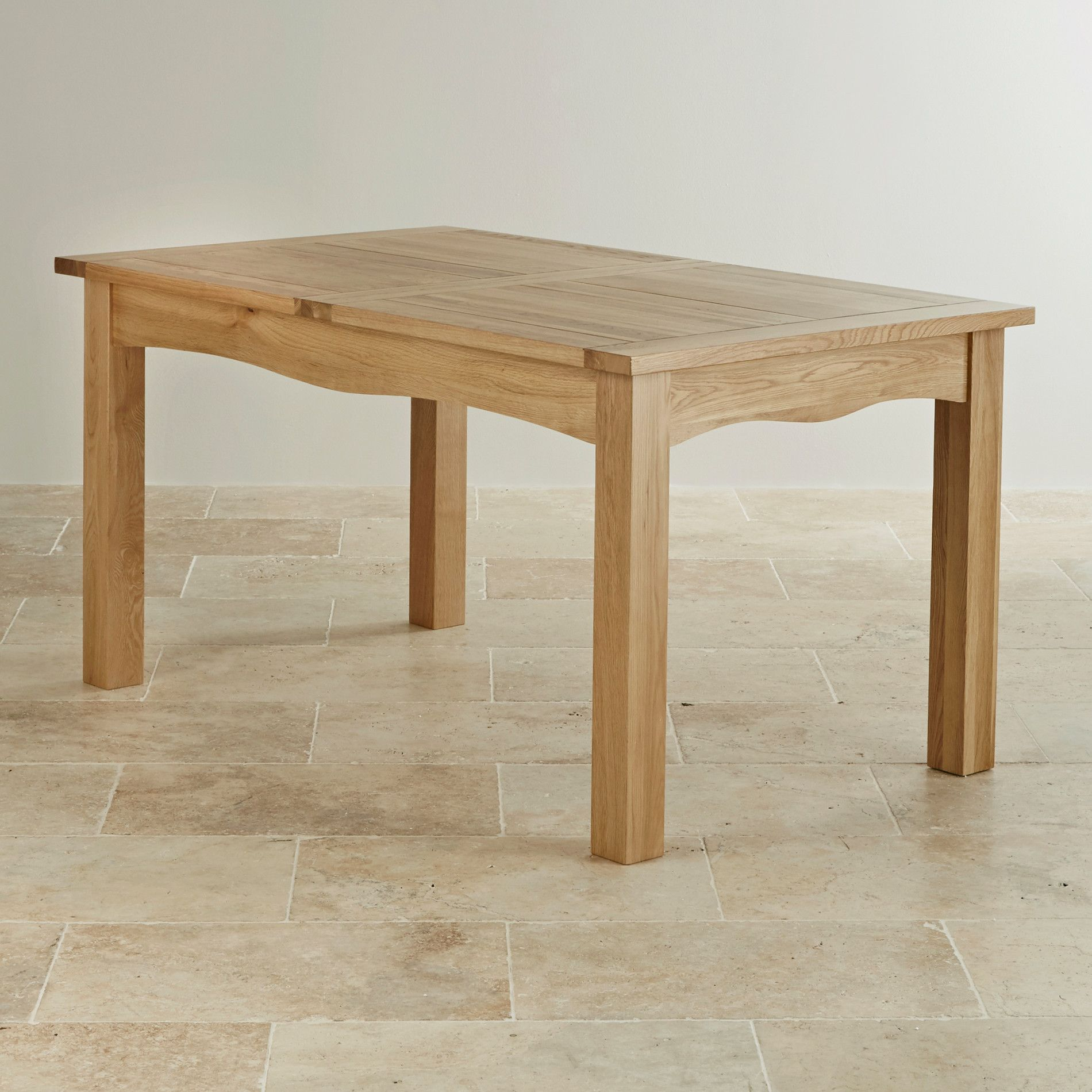 5ft X 3ft Cairo Natural Real Oak Extending Dining Table Oak Extending Dining Table 8 Seater Dining Table Dining Table