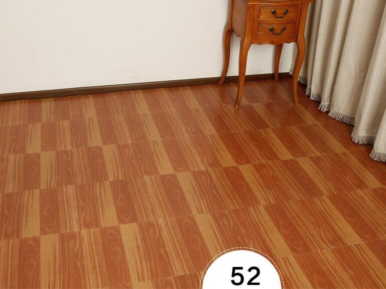 Pvc Self Adhesive Plastic Floor Plastic Stickers Affixed Environmental Sheet Plastic Carpet 3d Floor Tile Wallpaper Plastic Flooring Tile Floor Tile Wallpaper