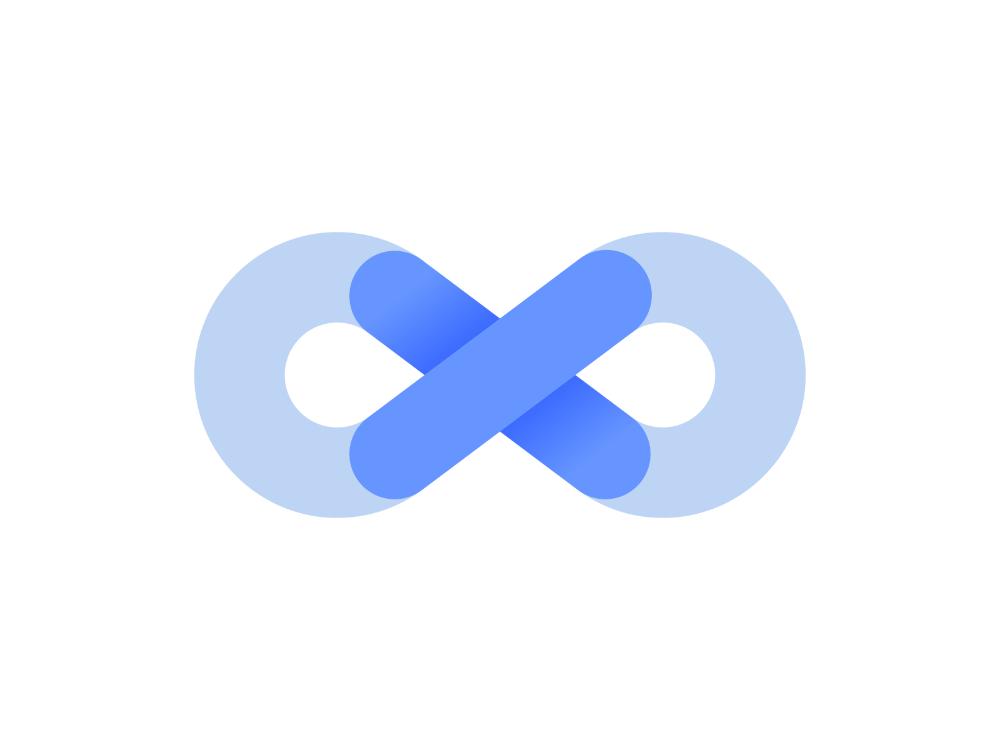 Infinite Logo Concept In 2021 Logo Concept Infinite Logo Logo Branding Identity
