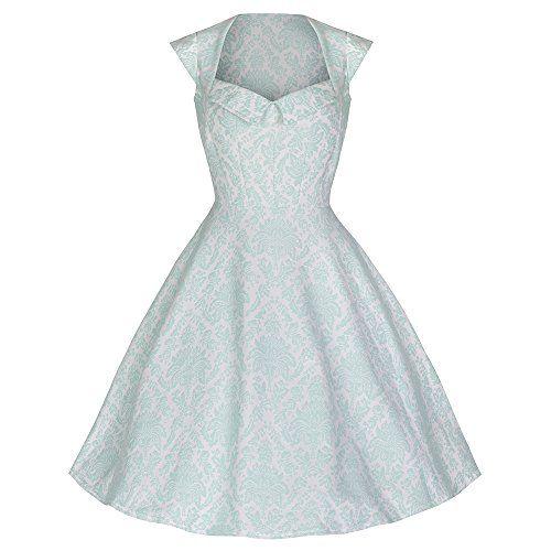 Kleid mintgrun h&m