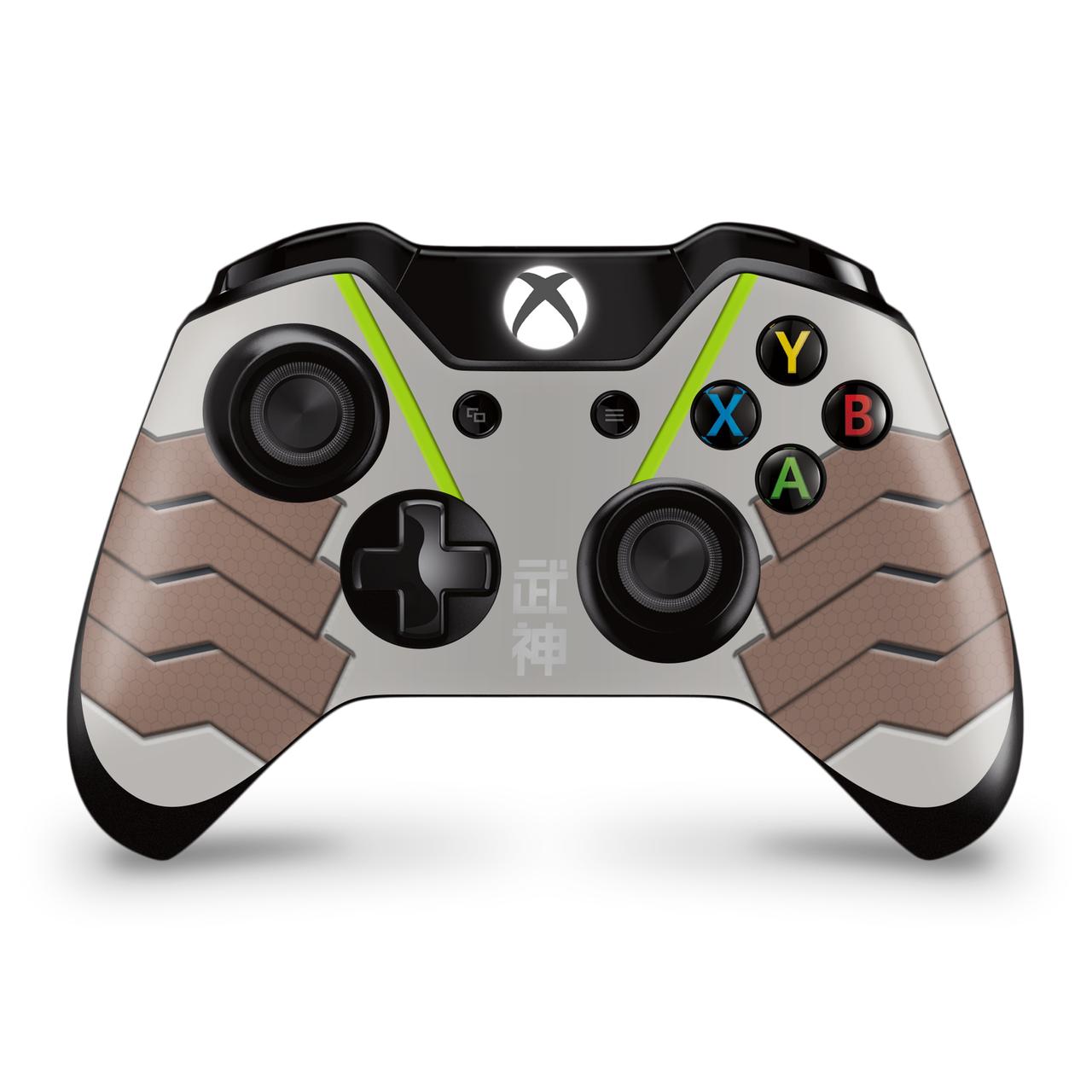 Genji Xbox One Controller Skin Overwatch Xbox Xbox One Xbox One Controller