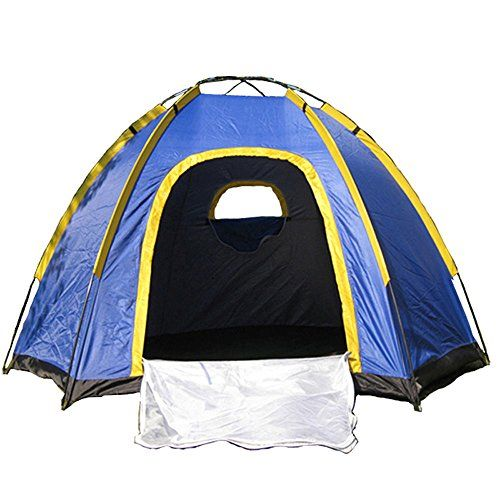 Portable Camping Tent 4 Person Waterproof Uv Outdoor Camping