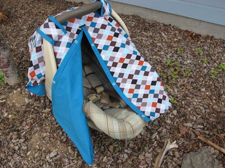 Baby Car Seat Sewing Patterns | Infant Car Seat Cover - PDF Pattern - Sew your : car seat canopy patterns - memphite.com