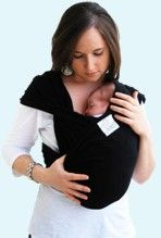 Best baby sling, does not cover faces, and keeps them where they belong, close to your heart <3