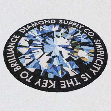 Diamond Supply Co. Simplicity Rug