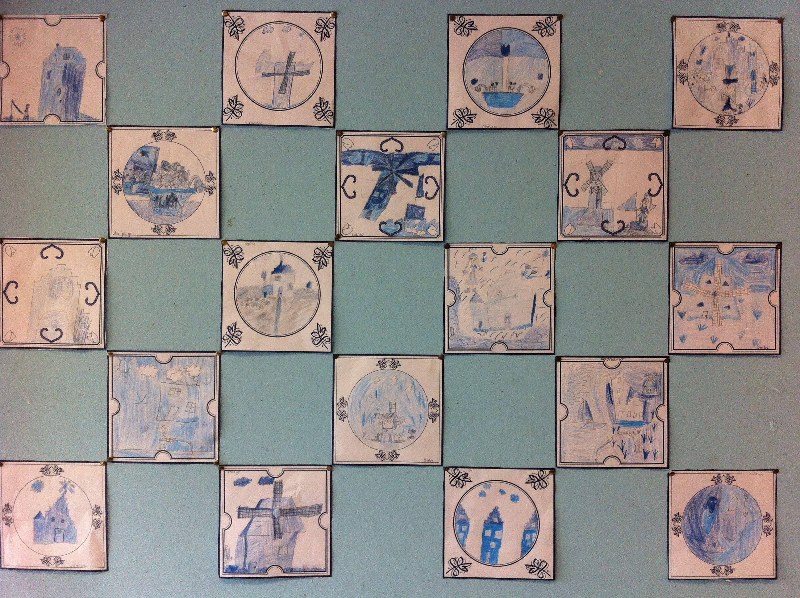 Delfts Blauwe Tegels : Keuzecursus tegels maken
