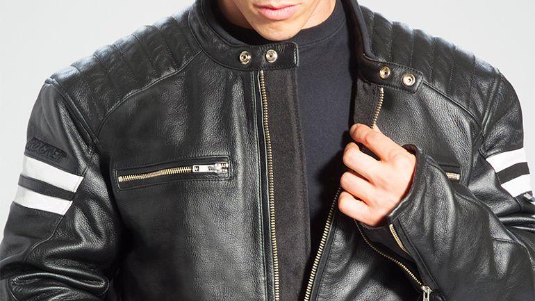 Mens retro leather motorcycle jackets – Modern fashion jacket ...