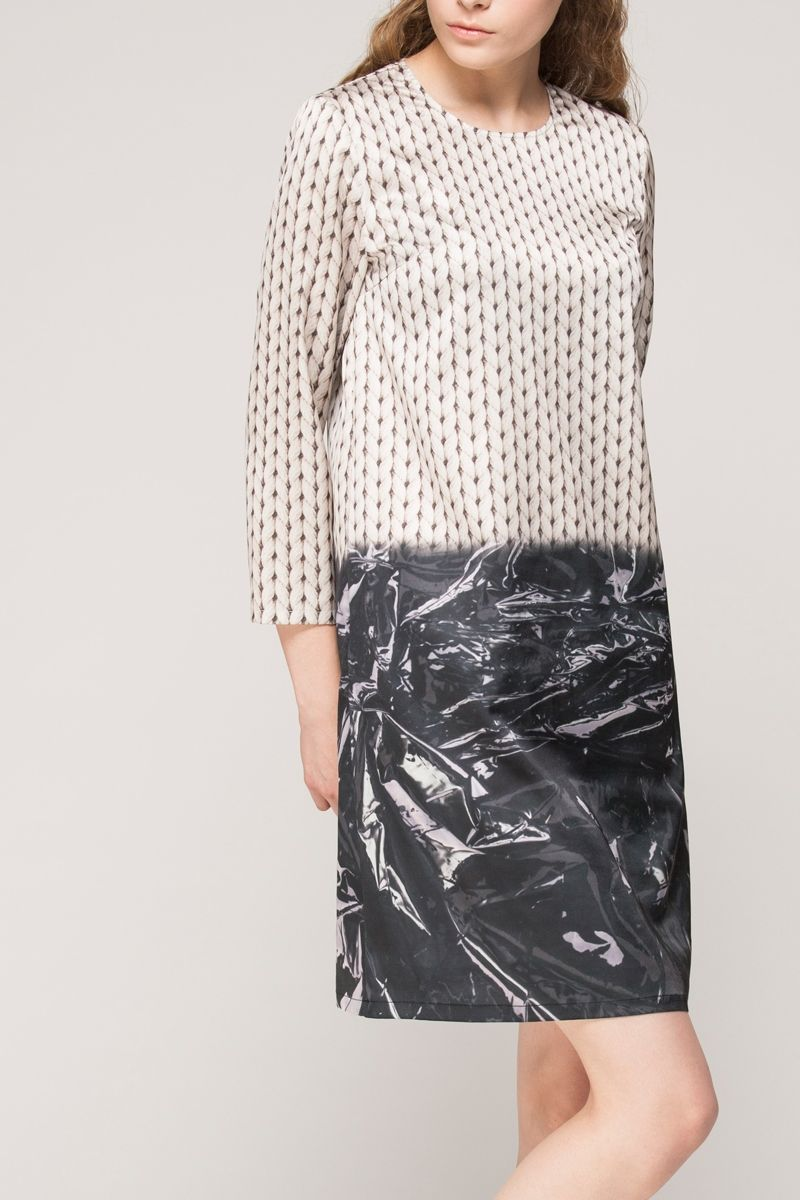 <p>Made from an easy-care poly fabric. Side pockets. Regular fit. About me:. 100% polyester</p>