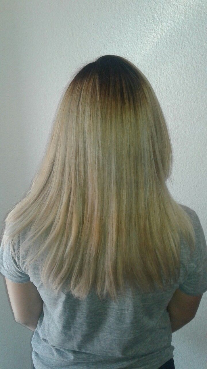 Pin by natalie ocampo on blonde hairhighlightsombre pinterest