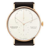 Lambda Roségold sapphire crystal back | Beautiful watches purchased online. Directly from NOMOS Glashütte.