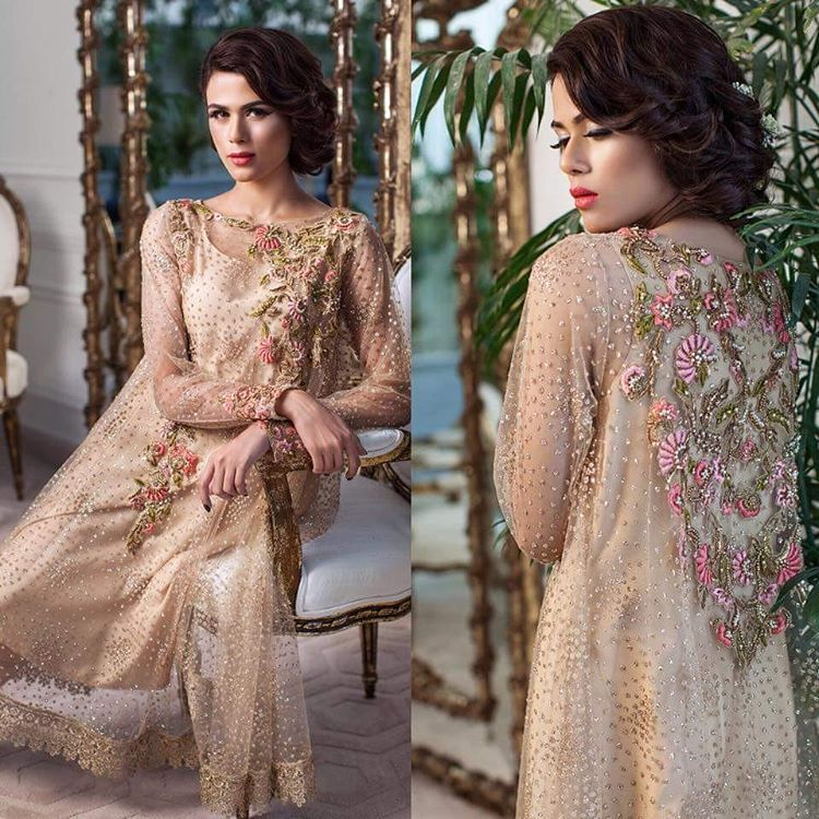 "f47ec894f8 ""Luxury mina hasan master replica full embroided chiffon suit with chiffon  dupatta Available now Rs 3500 #cashondelivery All Pakistan & Dubai Contact  via…"""