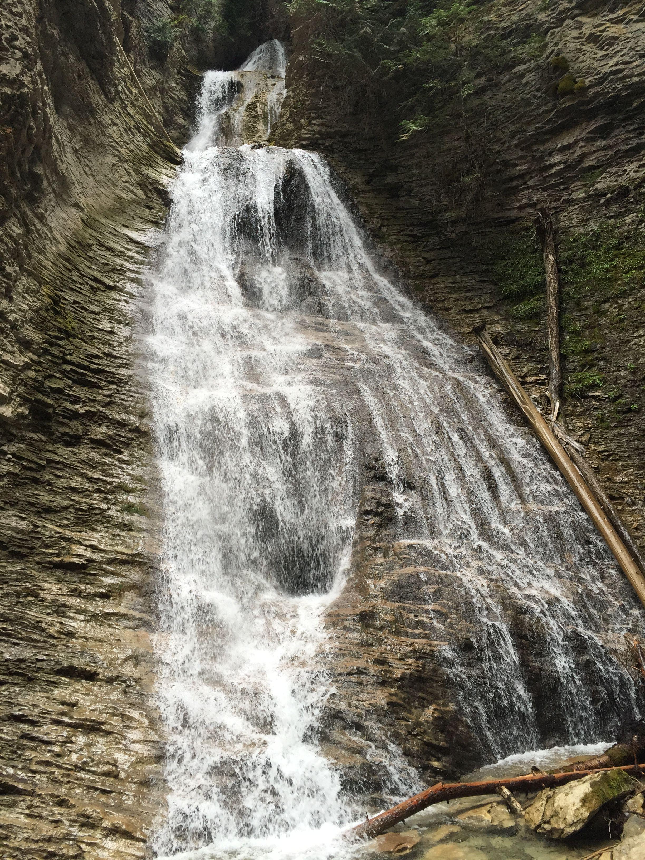 Margaret Falls, Herald Provincial Park, BC Waterfall