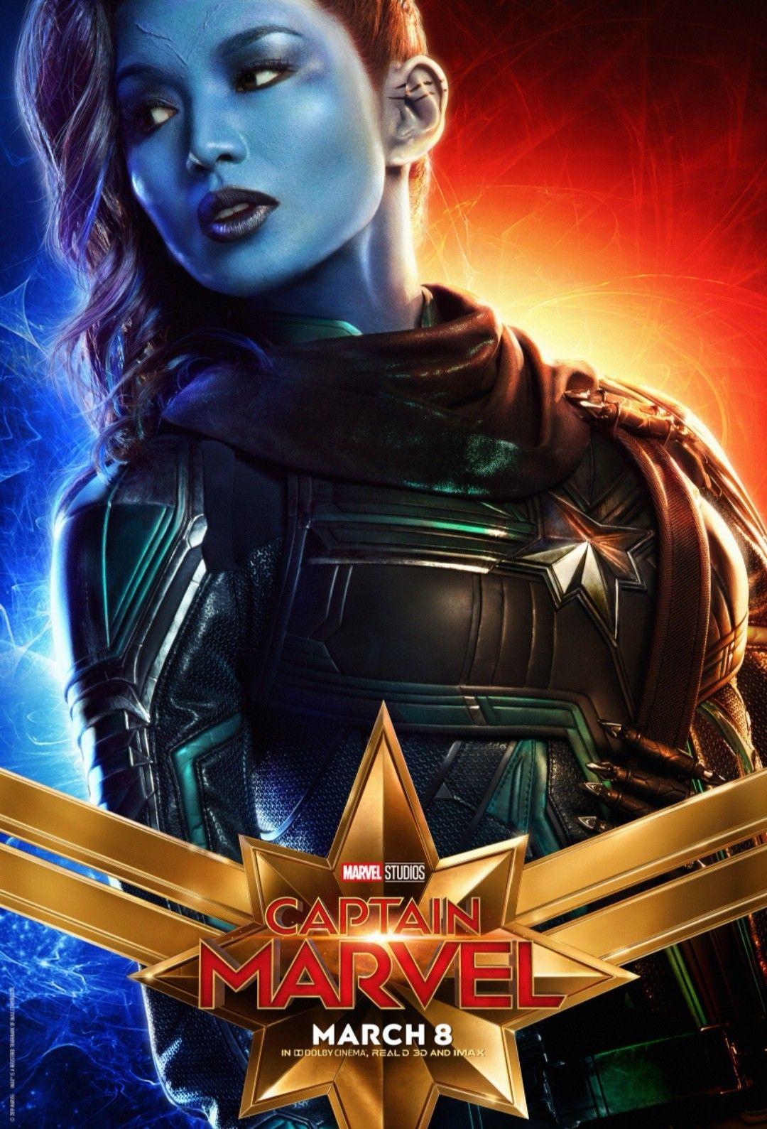 Captain Marvel Poster Doctor Minerva Marvel Super Herois