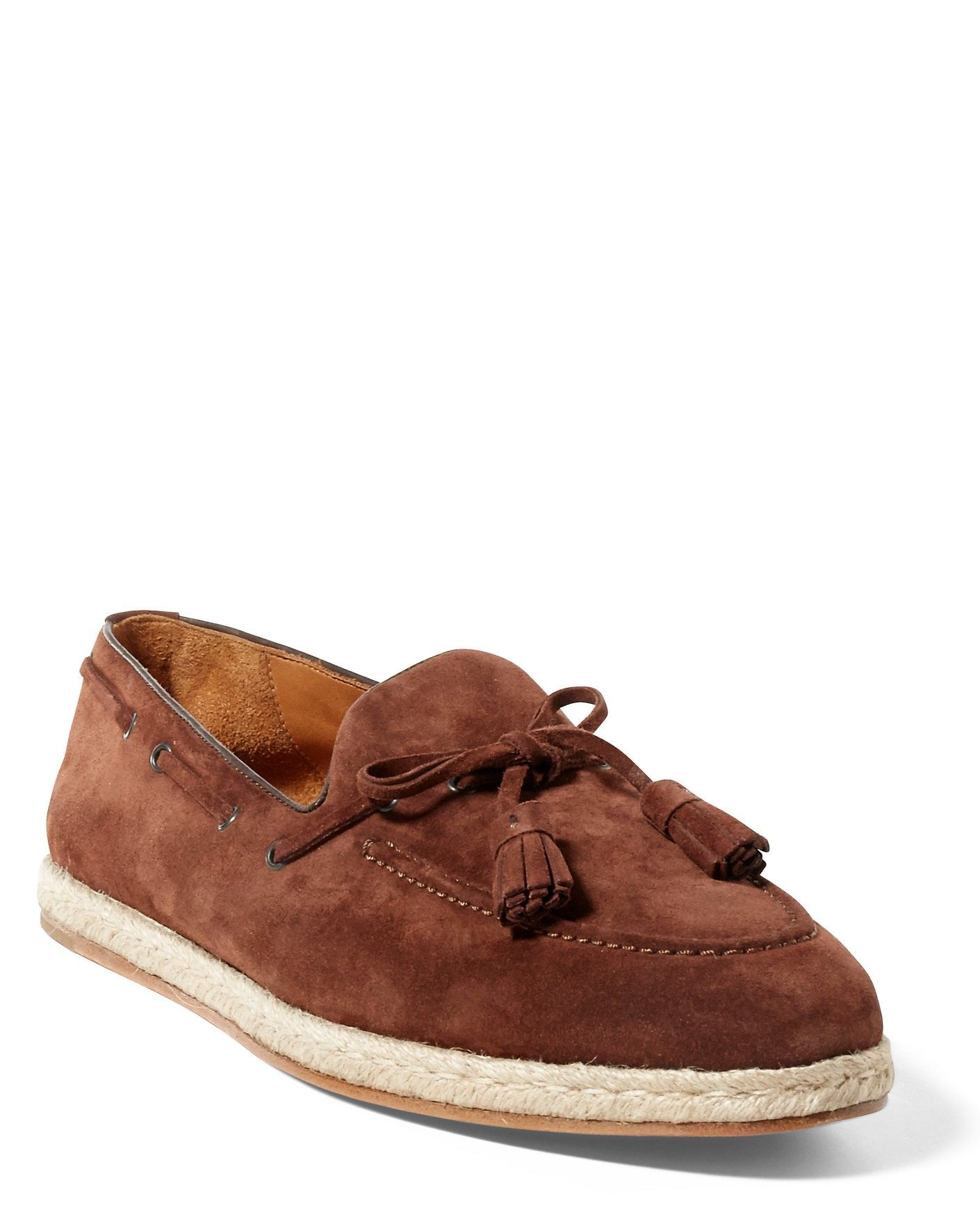 RALPH LAUREN Chessington Suede Loafer. #ralphlauren #shoes #all