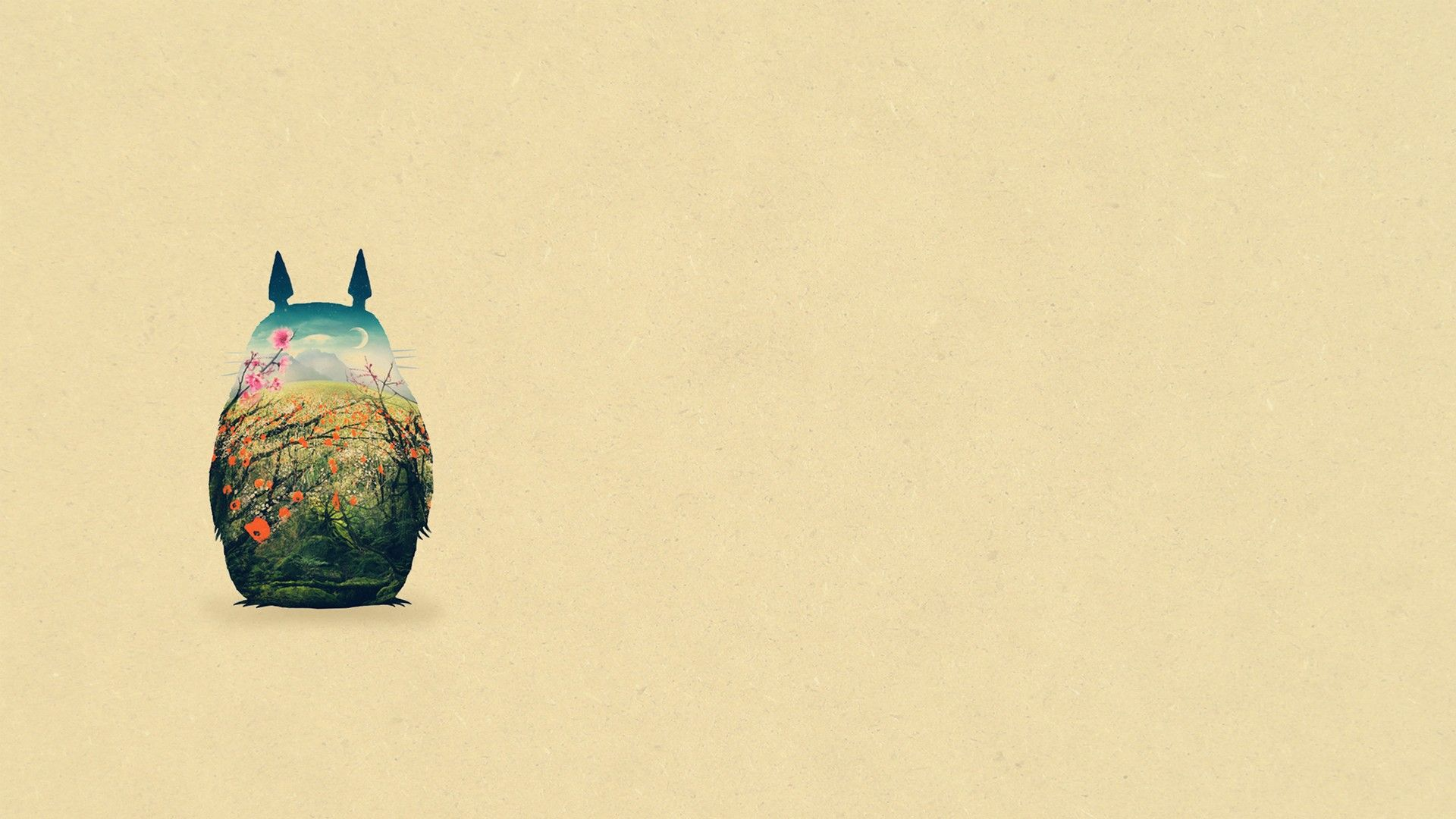 Totoro HD 1080p Wallpapers Download Totoro Pinterest