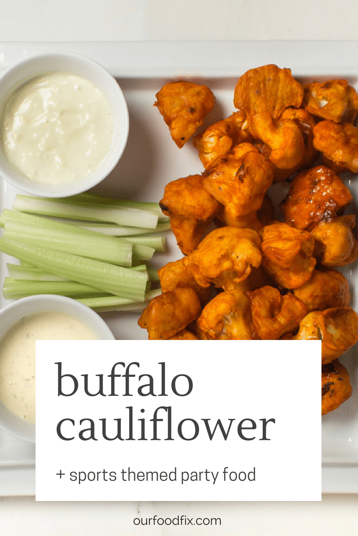 Paleo Buffalo Cauliflower Bites - Our Food Fix