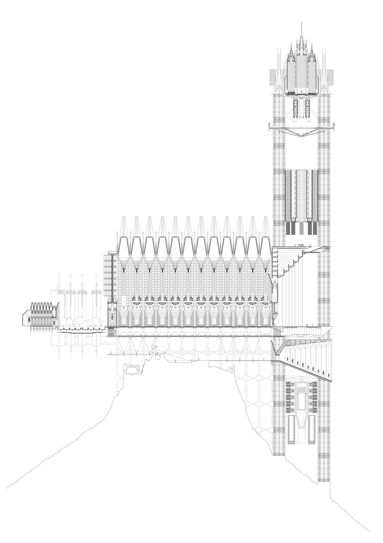 Architectural Review The Hyperuranion A Temple To Genetic Engineering Diagram Architecture