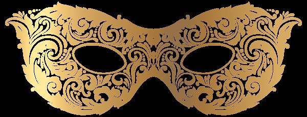 Gold Carnival Mask Png Clip Art Image Maschere Carnevale Peccato Originale
