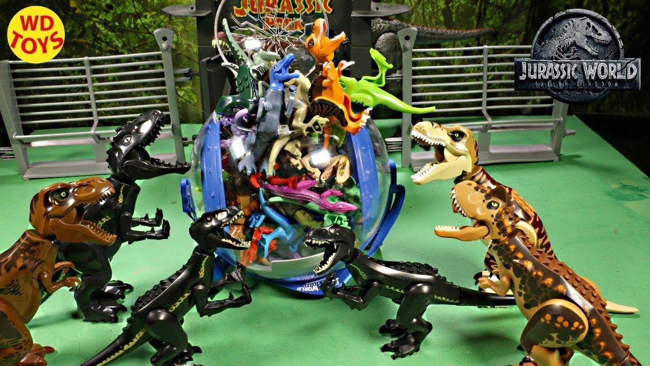 New 165 Fake Lego Dinosaur Toys Jurassic World Fallen Kingdom