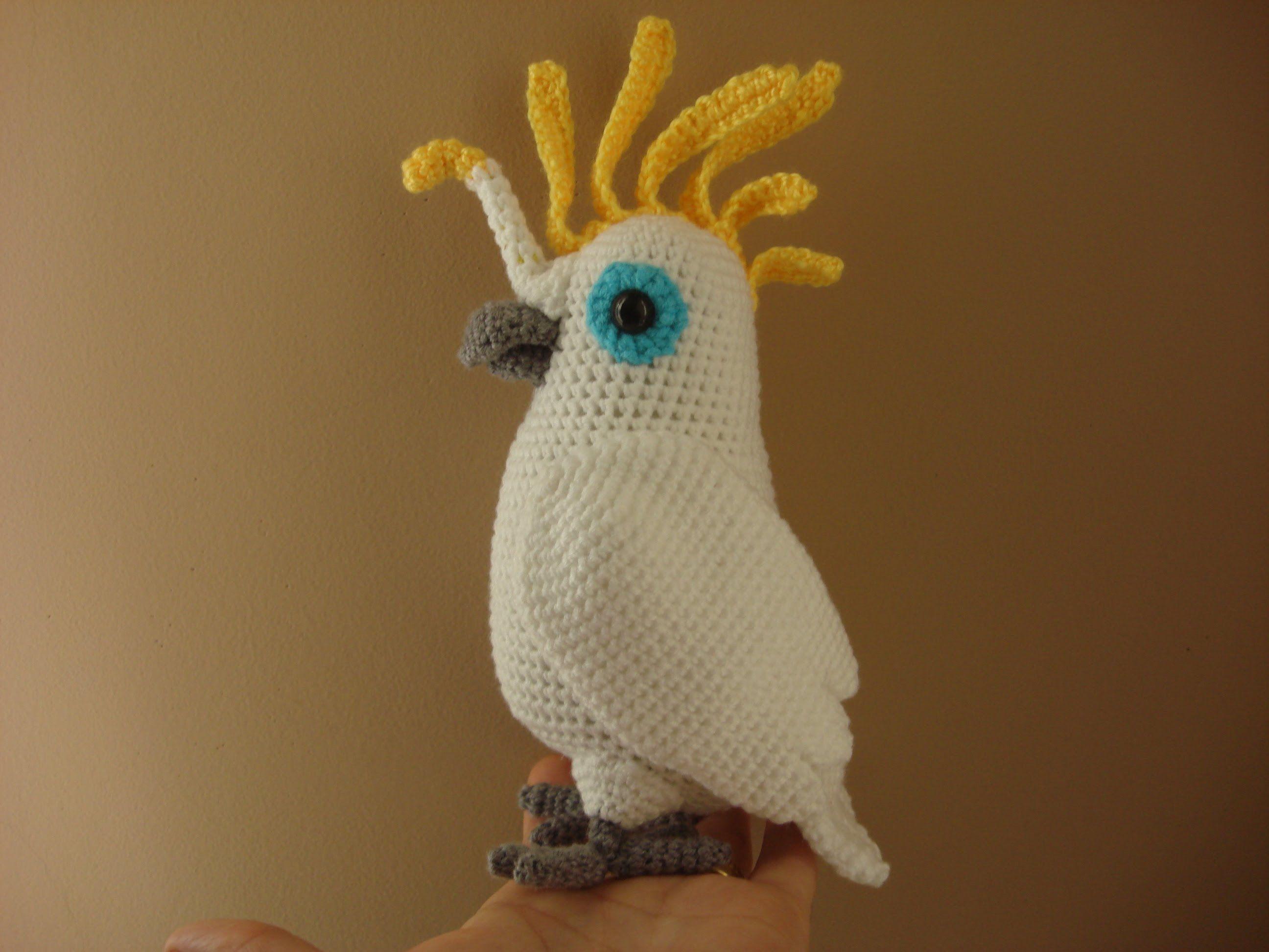 Amigurumi Bird Tutorial : Cacatua amigurumi tutorial игрушки amigurumi