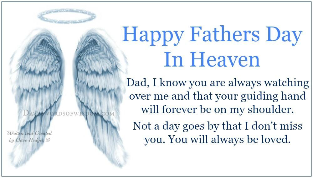 Happy Fathers Day In Heaven Fathers Day Ideas In 2019 Fathers