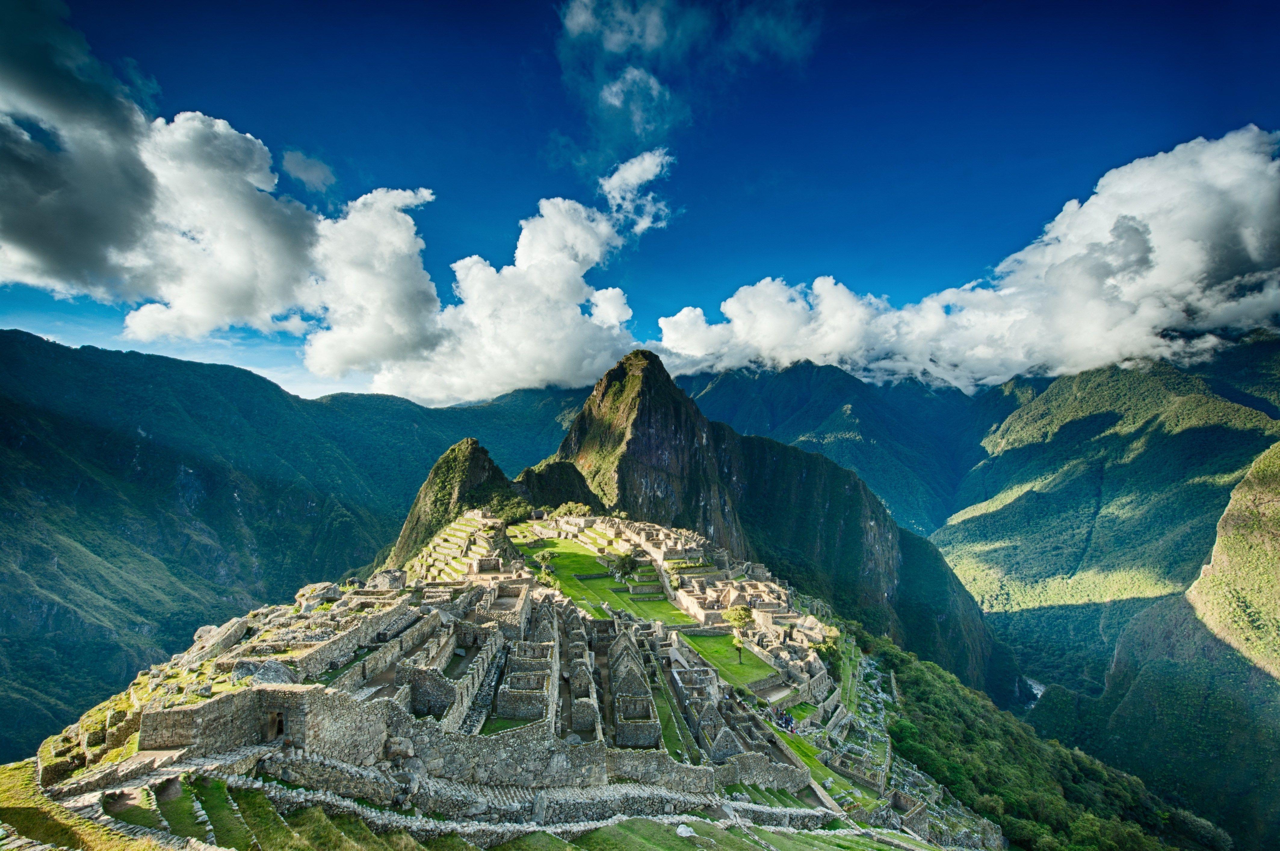 High Resolution Wallpaper Machu Picchu Zuid Amerika Amerika