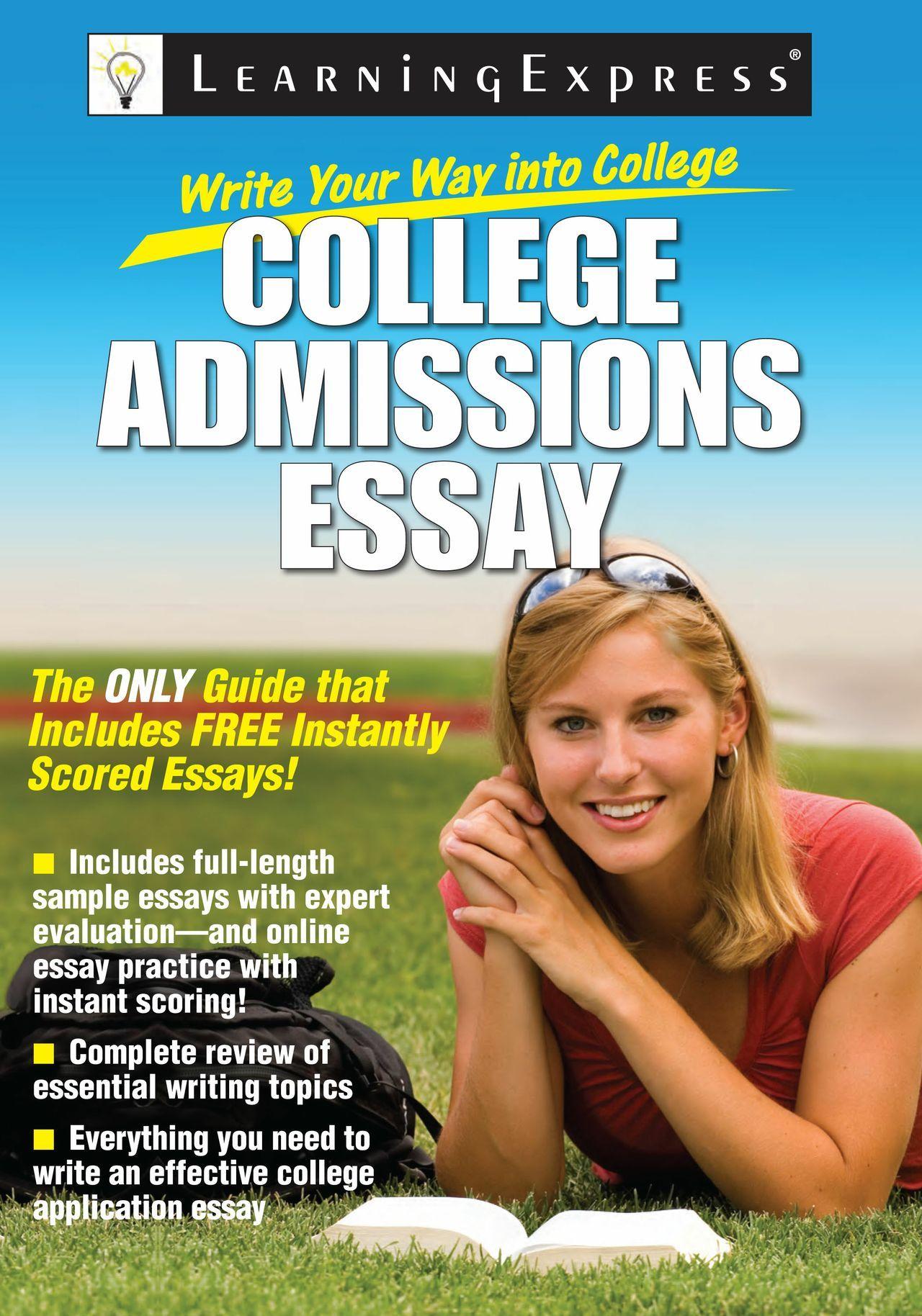 Best college admission essays book