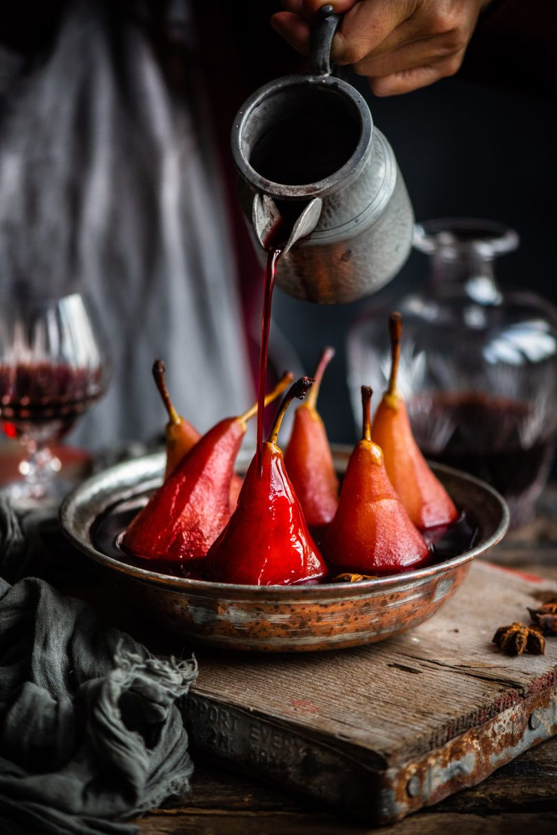 Poached Pears In Mulled Wine Eighty 20 Nutrition Lentil Nutrition Facts Poached Pears Food