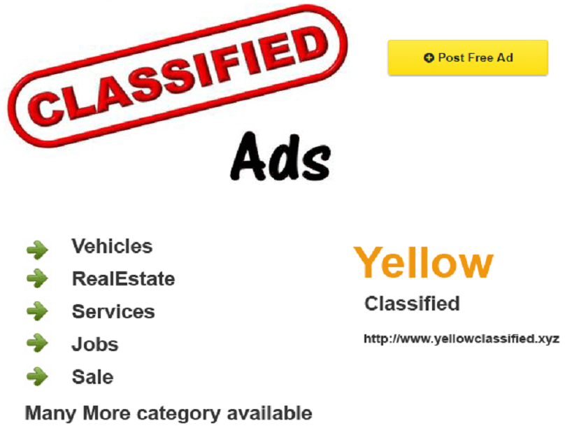 To keep a check on free ad posting and classified ads