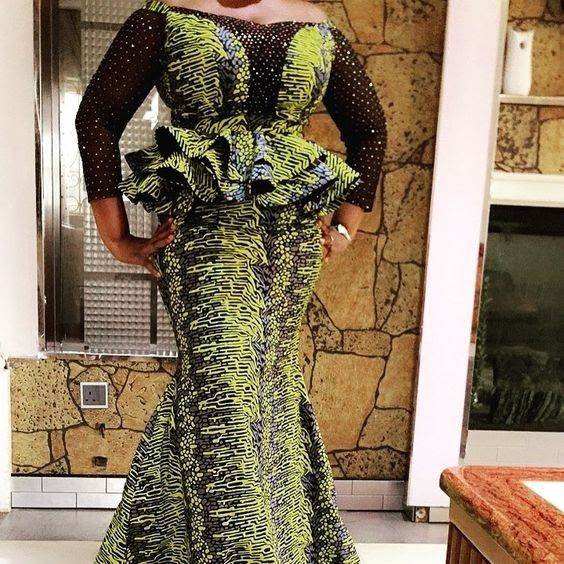 Stunningly Stylish Ankara Styles For Ladies Ankara Peplum Styles