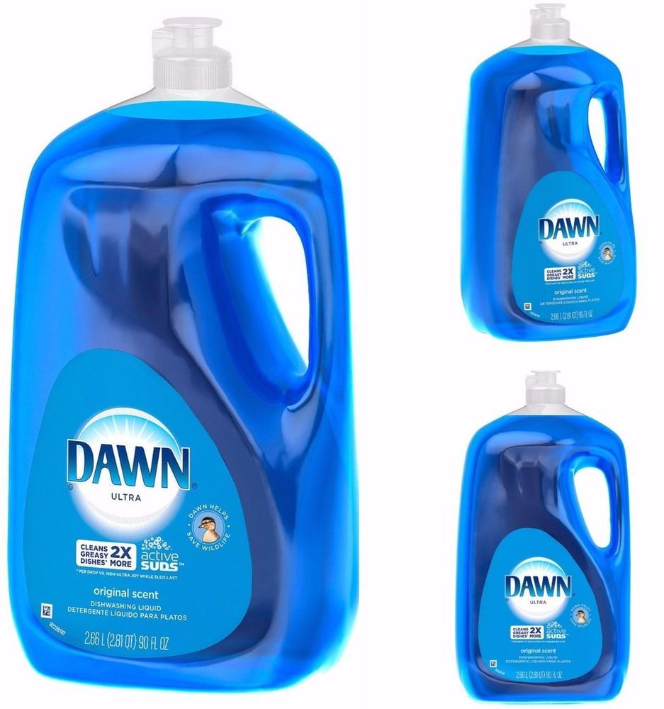 Dawn Dish Washing Detergent Ultra Concentrated Original Scent