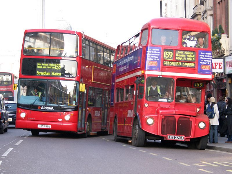 10 Year Anniversary Of Route 159 Aec Routemaster