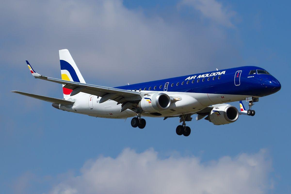 Embraer 190-100IGW, Air Moldova JP7677159 - Air Moldova