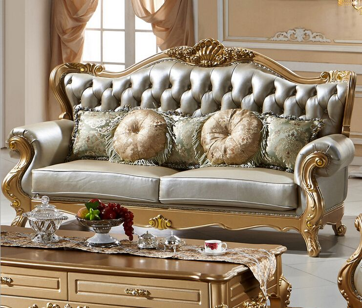New Design Antique Sofas Royal Classic Furniture European Style Furniture  0409