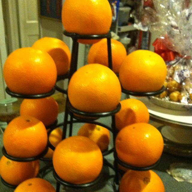 My vintage fruit display