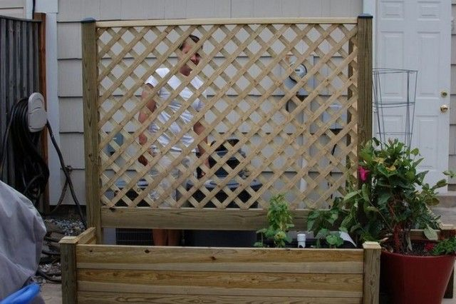 Diy Privacy Planter Privacy Planter Diy Garden Bed 640 x 480
