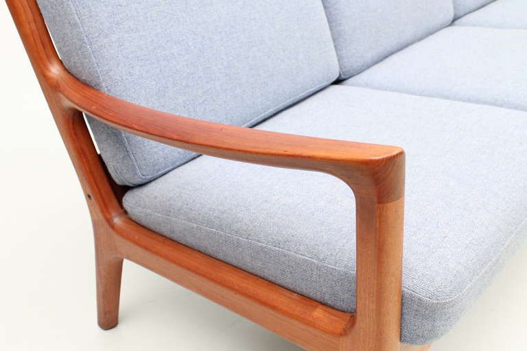 Vintage Teak Sofa by Ole Wanscher, Denmark | From a unique collection of antique and modern sofas at http://www.1stdibs.com/furniture/seating/sofas/