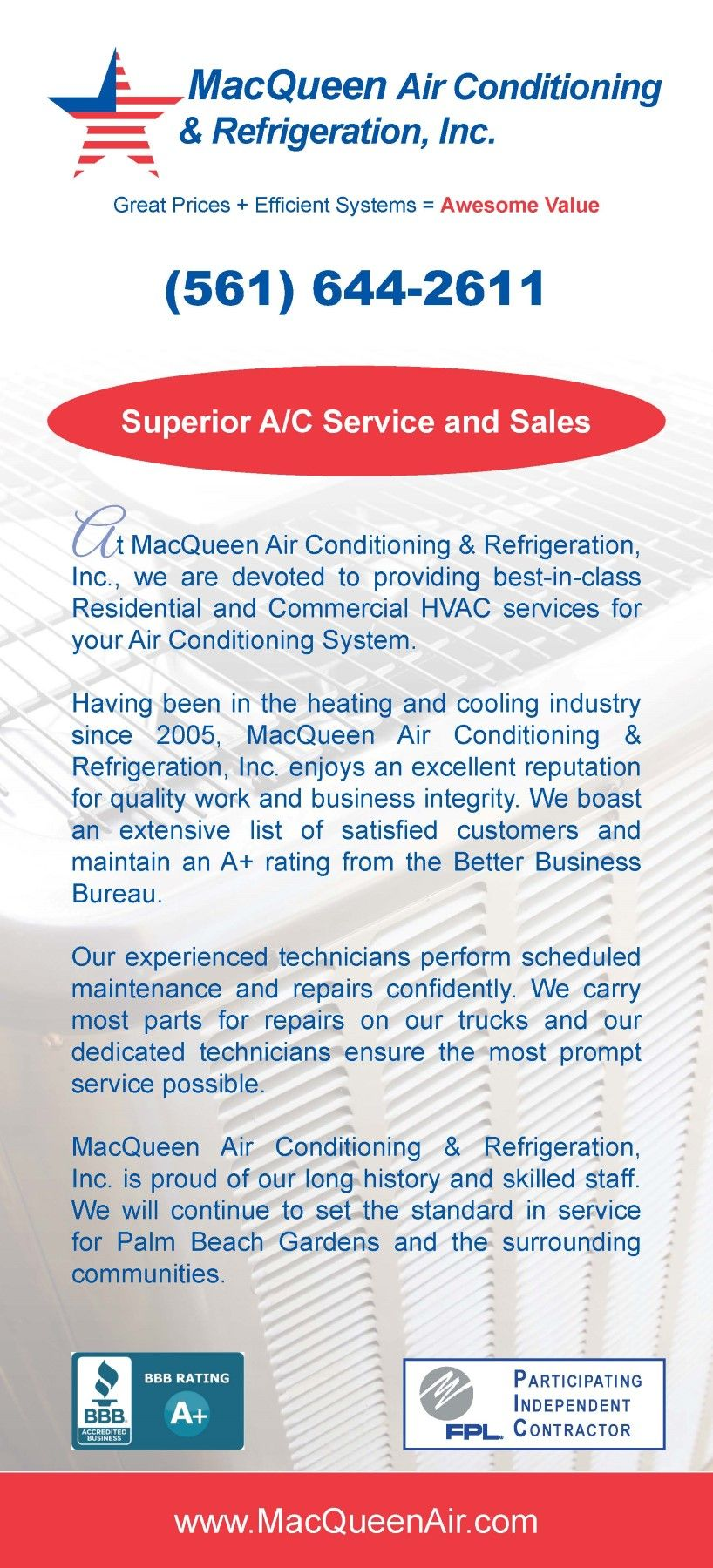 Pin By Preferred Printing Graphics On Rack Cards Hvac Services Commercial Hvac Air Conditioning System