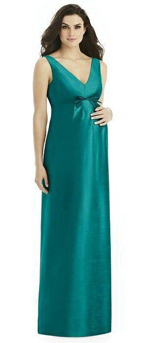 35554de9e Alfred Sung Maternity Bridesmaid Dress Style M438 | GREEN BRIDESMAID ...