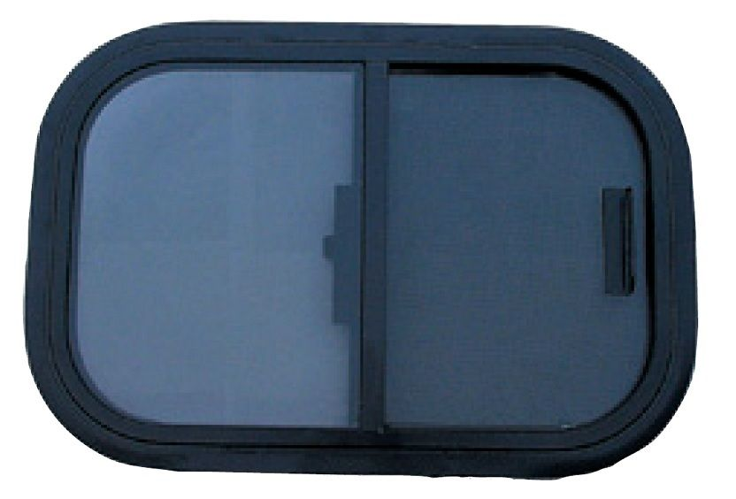 12x36 90 Degree Radius Trailer Window With Screen Trailer Truck Camping Camper Trailers