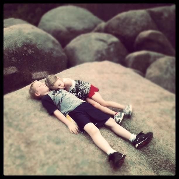 Boulder Dozing