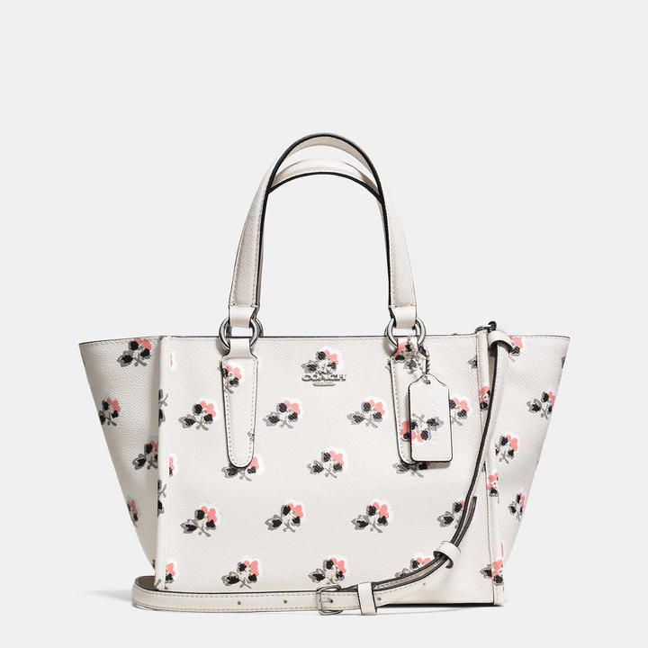 Coach Crosby Mini Carryall In Printed Crossgrain Leather